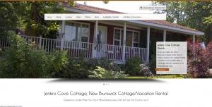 Jenkins Cove Cottage Rental Website Design Internet Marketing
